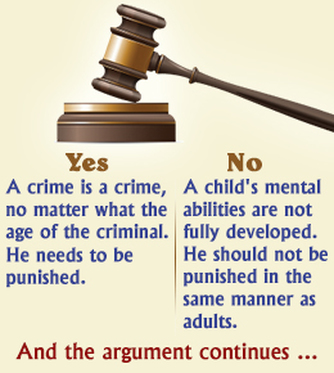 Juveniles tried as adults court cases